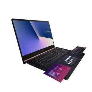 """PC Portable Ultrabook 14"""" Tactile Asus ZenBook UX480FD-E1053T avec ScreenPad - FHD, i7-8565U, RAM 16Go, SSD 512Go, GTX 1050 4Go, Windows 10"""