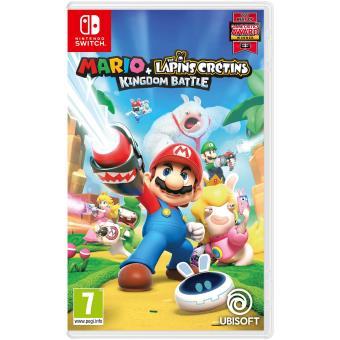 Mario et Les Lapins Crétins Kingdom Battle sur Nintendo Switch