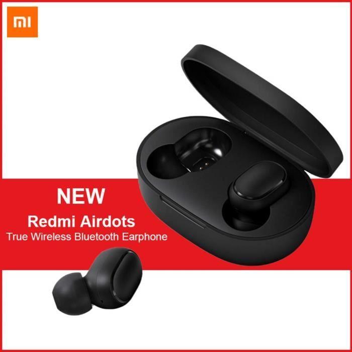 Écouteurs intra-auriculaires sans-fil Xiaomi Redmi Airdots - Bluetooth 5.0 (+ éventuelle Négociation, vendeur tiers)