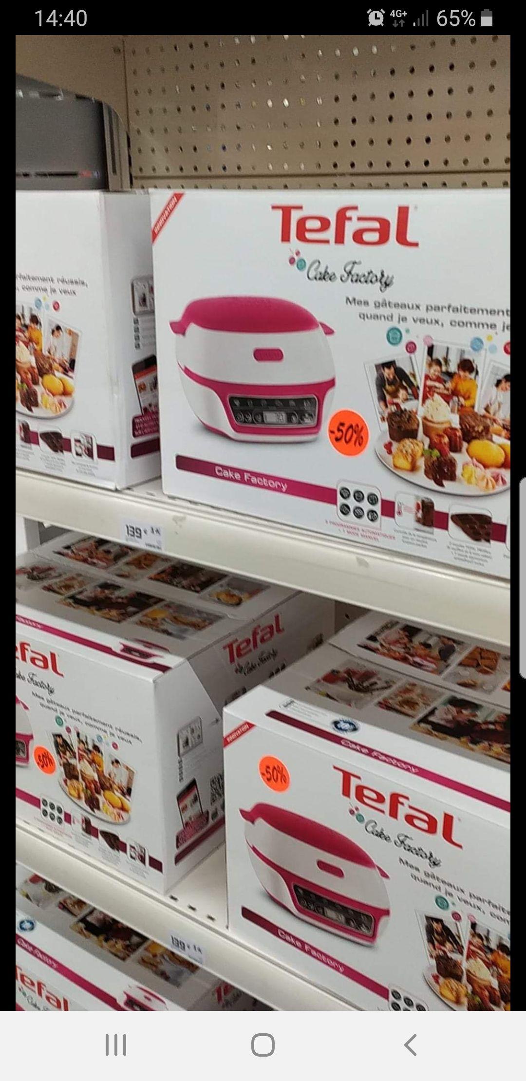 Machine à gâteaux Tefal Cake Factory KD801811 (1100 W) - Albi (81)