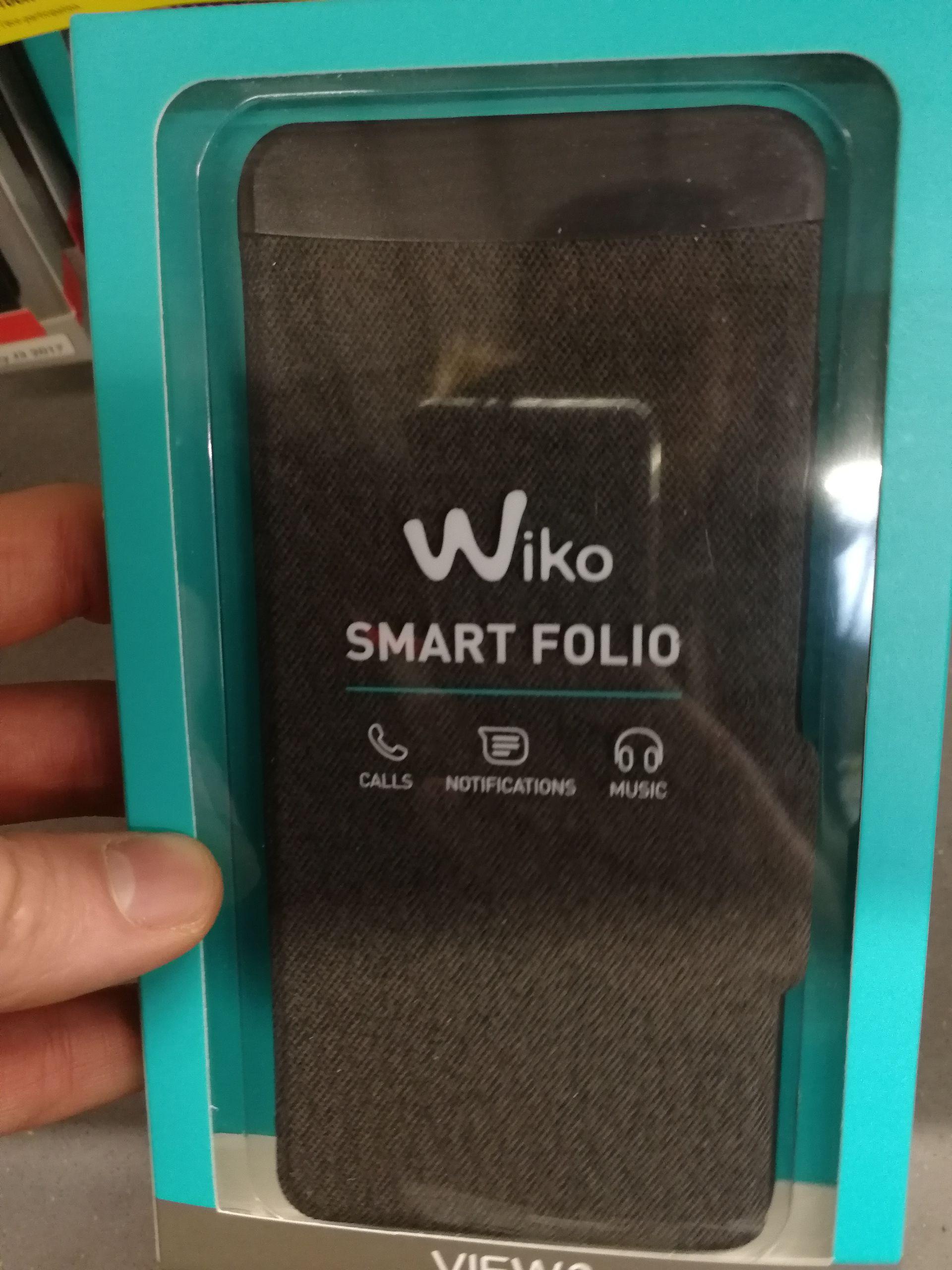 Étui de protection pour smartphone Wiko View 2 Smart Folio - Haubourdin (59)