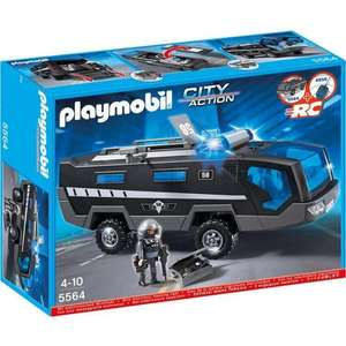 Véhicule d'intervention des forces spéciales Playmobil 5564