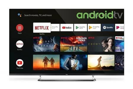 "TV 65"" TCL 65EP680 - LED, 4K UHD, HDR 10, Android TV, Dolby Vision & Audio (+ 90€ en carte cadeau) - Via ODR de 150€"