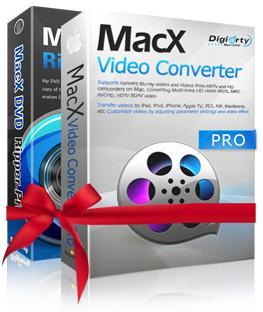 Logiciels MacX DVD Ripper Pro + MacX Video Converter Pro