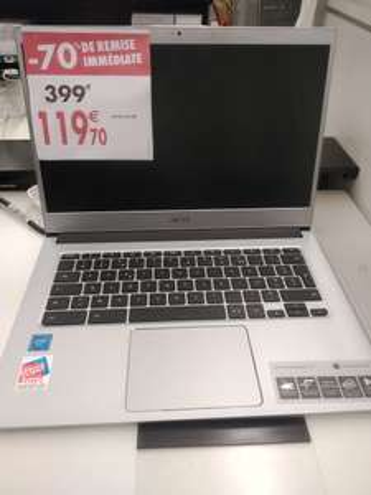 "PC Portable 14"" Acer Chromebook cb514-1h-c2er - HD, Celeron N3350, 4 Go RAM, 32 Go eMMC - Vaulx-en-Velin (69)"