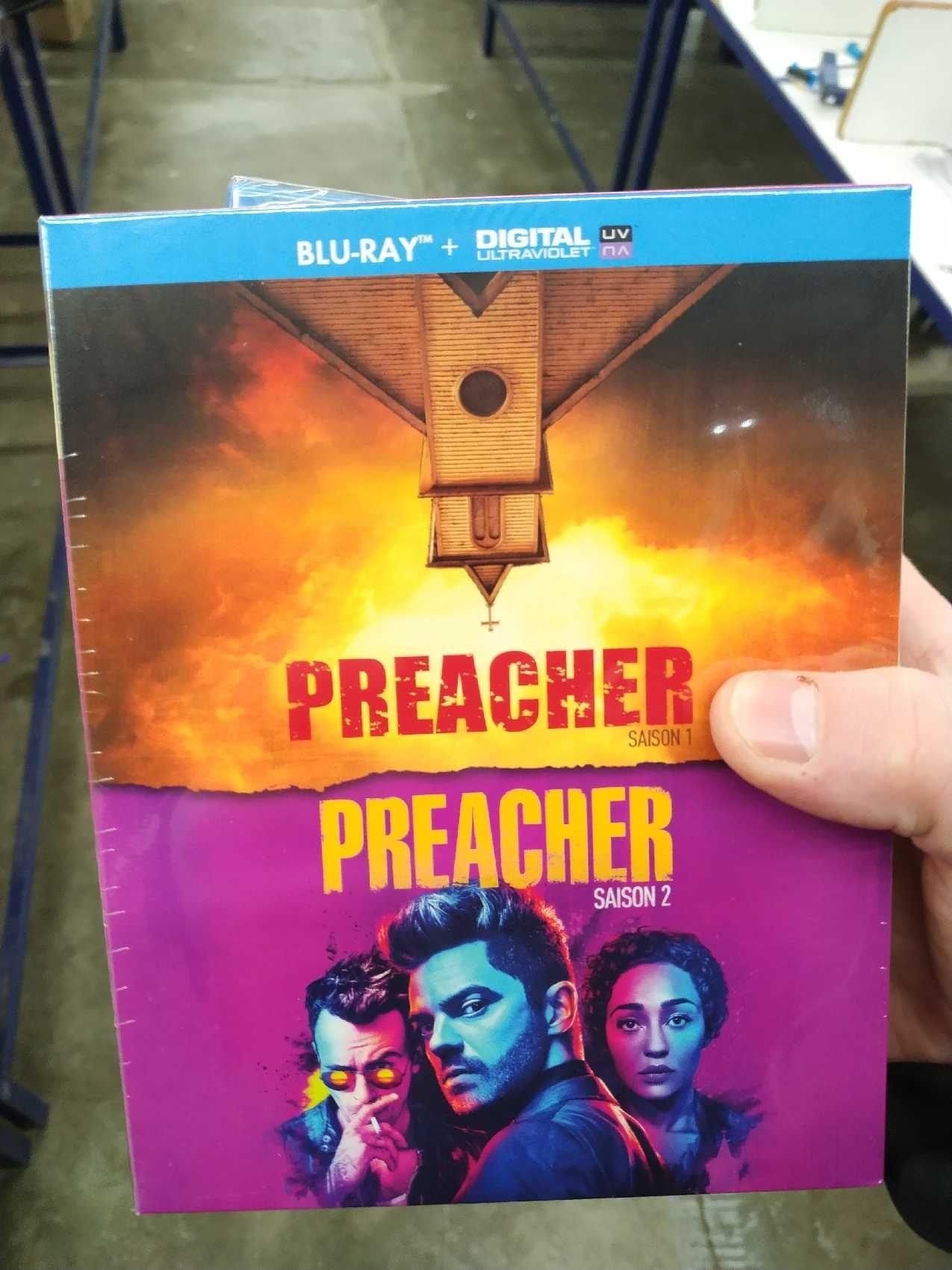 Coffret Blu-ray The preacher - Saison 1 et 2 - Besançon (25)