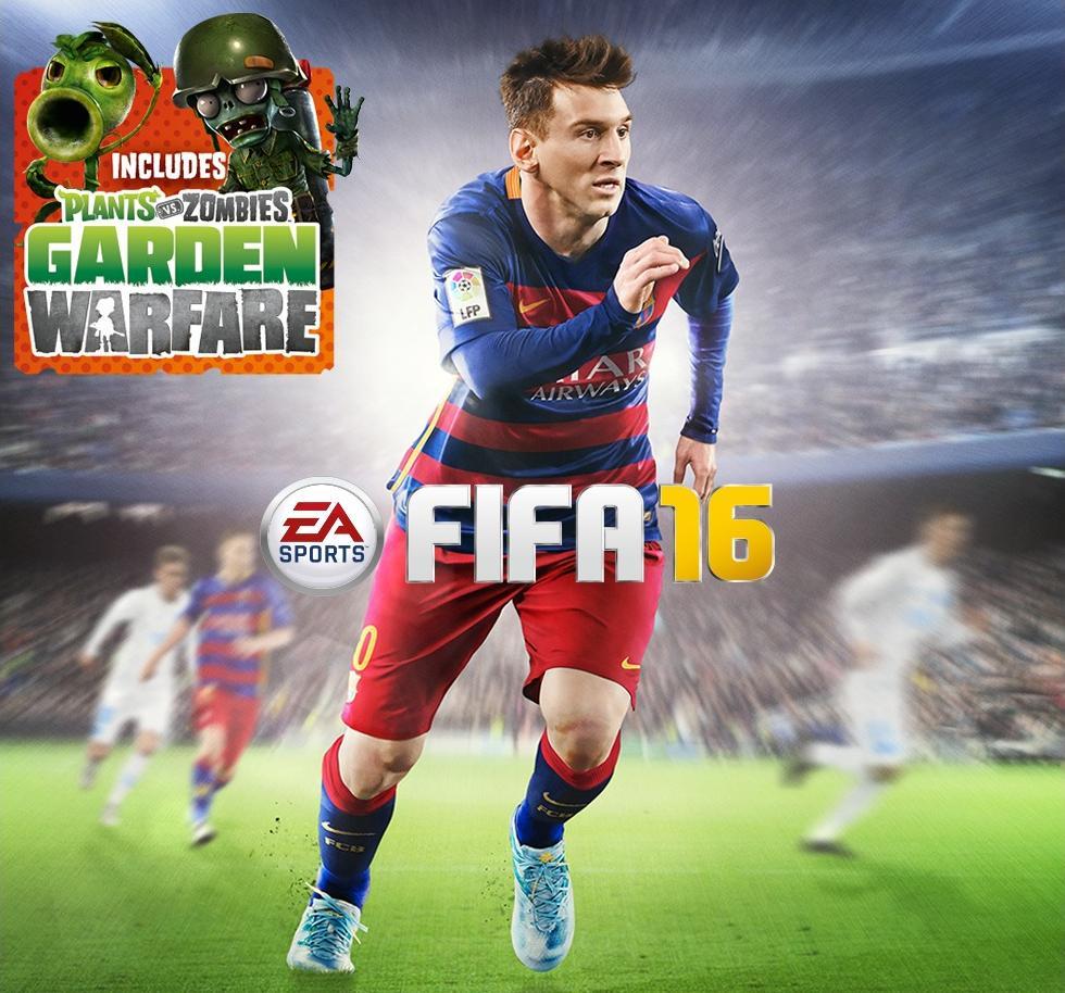 Fifa 16 + Plants Vs. Zombies Garden Warfare (Dématérialisé) - PS4 à 34.99€ ou Xbox One (Membres Gold)