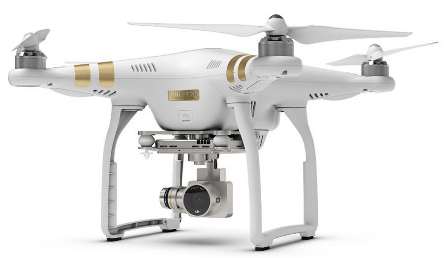 Drone DJI Phantom 3 Professional + Une batterie supplémentaire