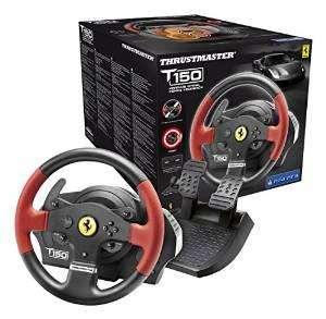 Thrustmaster T150 Ferrari Force Feeback - Volant 1080° avec Retour de Force pour PS4, PS3 et PC
