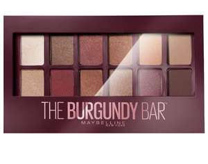 Sélection de maquillage en promotion - Ex : Palette fards à paupières 12 teintes Gemey Maybelline The Burgundy Bar - Bouliac (33)