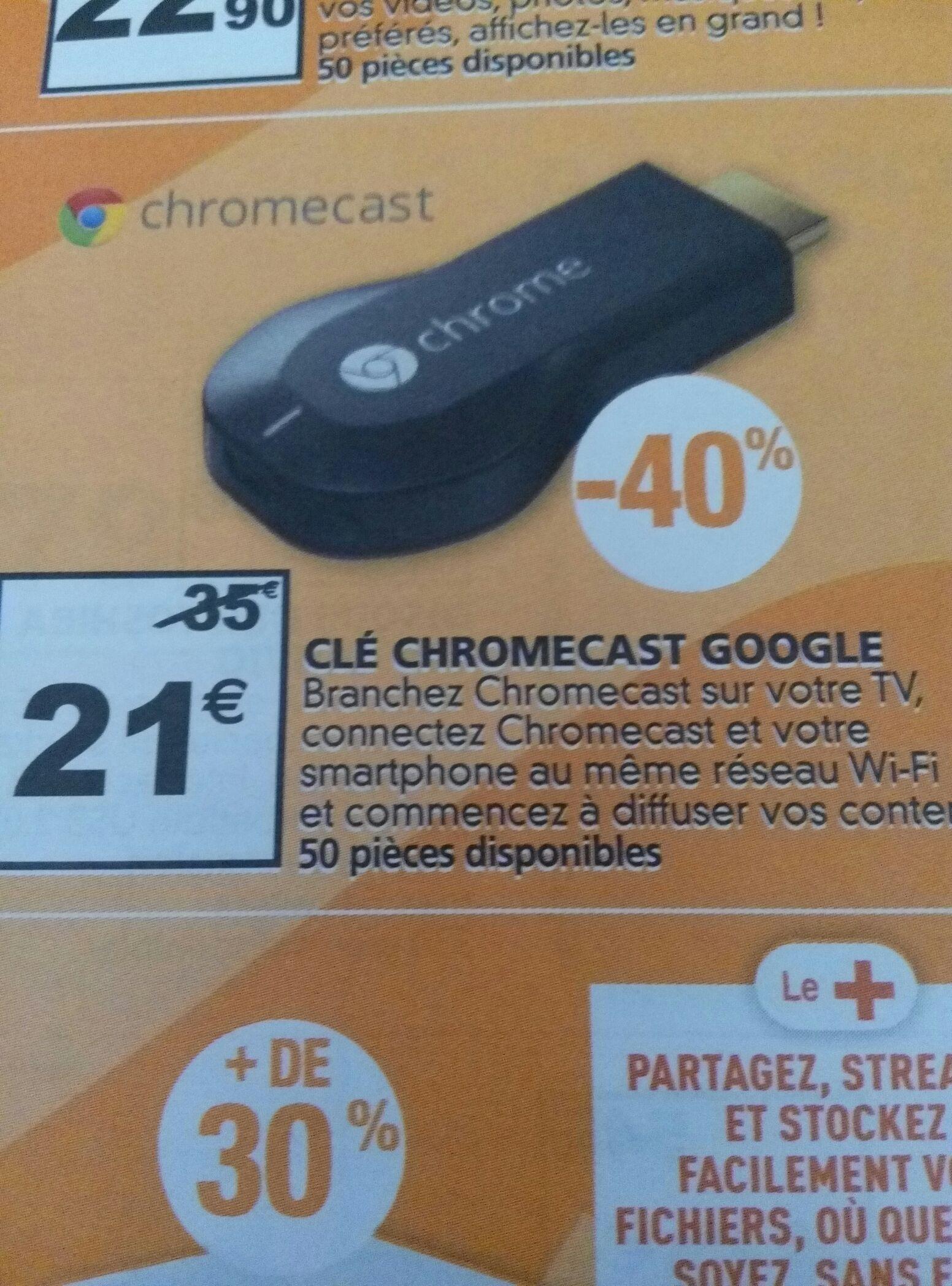 Clé HDMI Google Chromecast