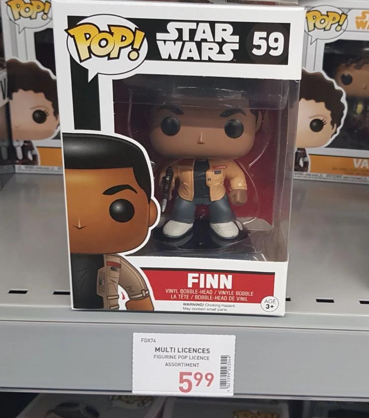 Figurine Funko Pop! Star Wars Finn - Rennes (35)