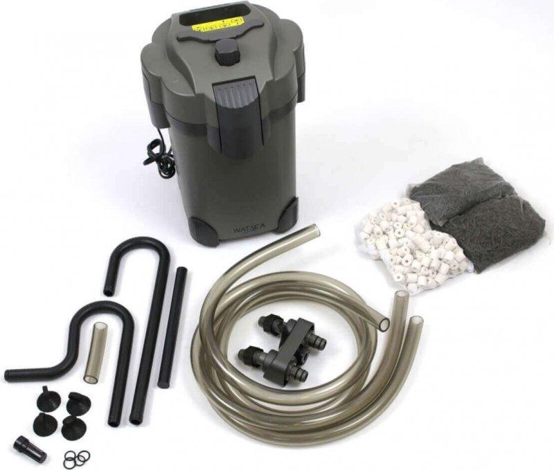 Filtre externe Watsea POWER 1600 pour aquarium - 35W, 1600 L/h