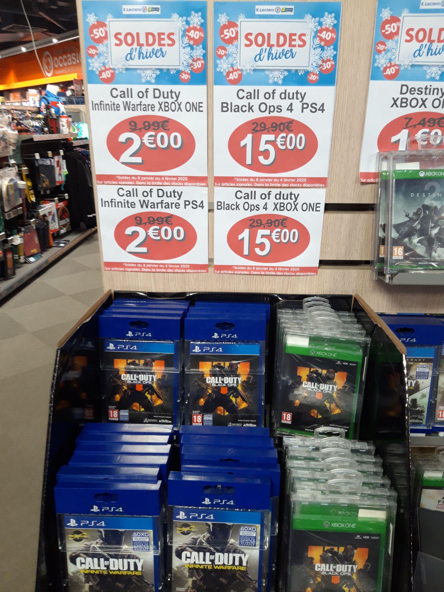 Jeu Call of Duty : Infinite Warfare sur PS4 et Xbox One - Rezé (44)