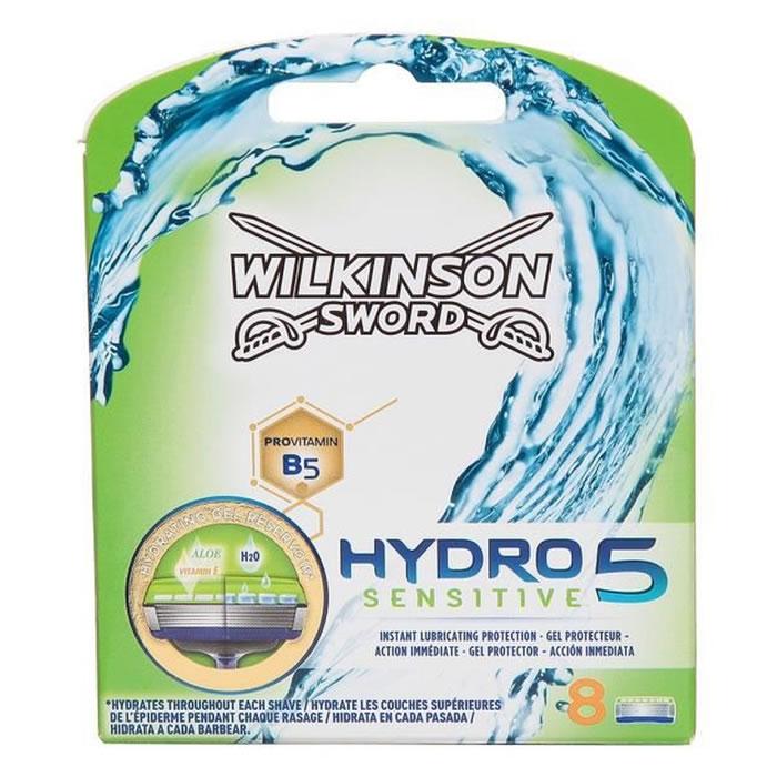 Lot de 8 lames de rasoir Wilkinson Hydro 5 sensitive