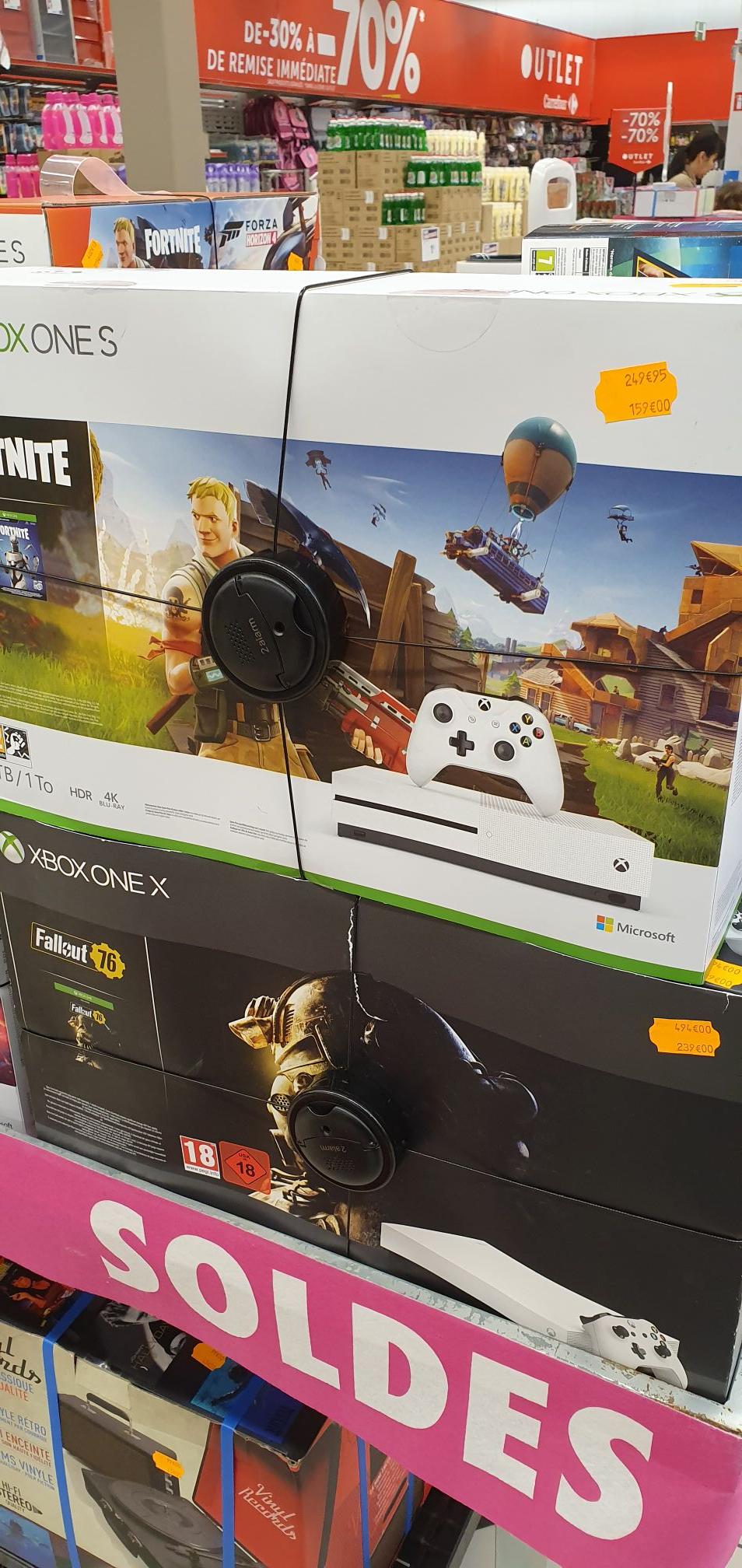 Sélection de consoles de jeu en promotion - Ex : Xbox One X (1 To) + Fallout 76 (Vaulx-en-Velin 69) / Beaulieu (44)