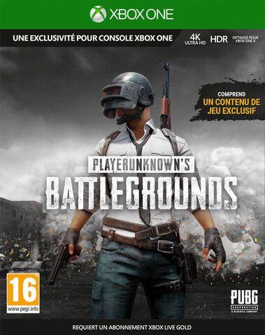 Playerunknown's Battlegrounds 1.0 sur Xbox One