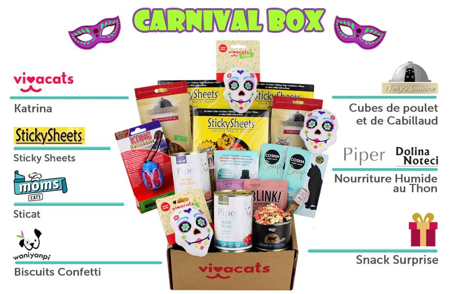 Votre premier mois de box surprise à 5.90€ - vivacats.com