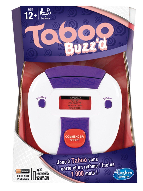 Jeu de société Taboo Buzz'd Hasbro - Electronique