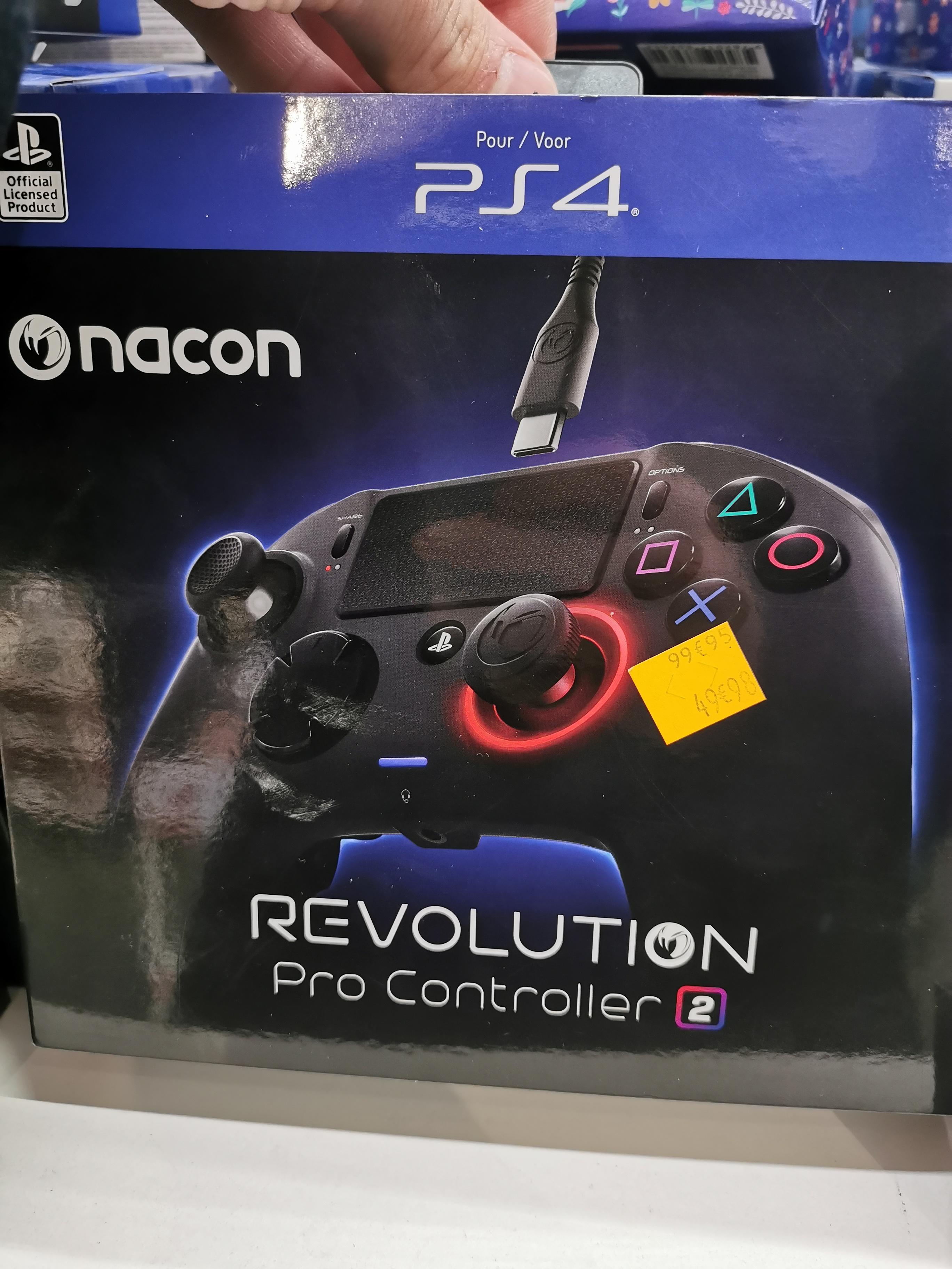 Manette Nacon Revolution Pro Controller 2 pour PS4 - Montesson (78)