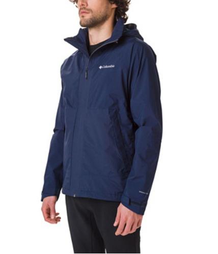 Veste Homme Columbia Evolution Valley Omni-Tech - Bleu foncé et tailles au choix