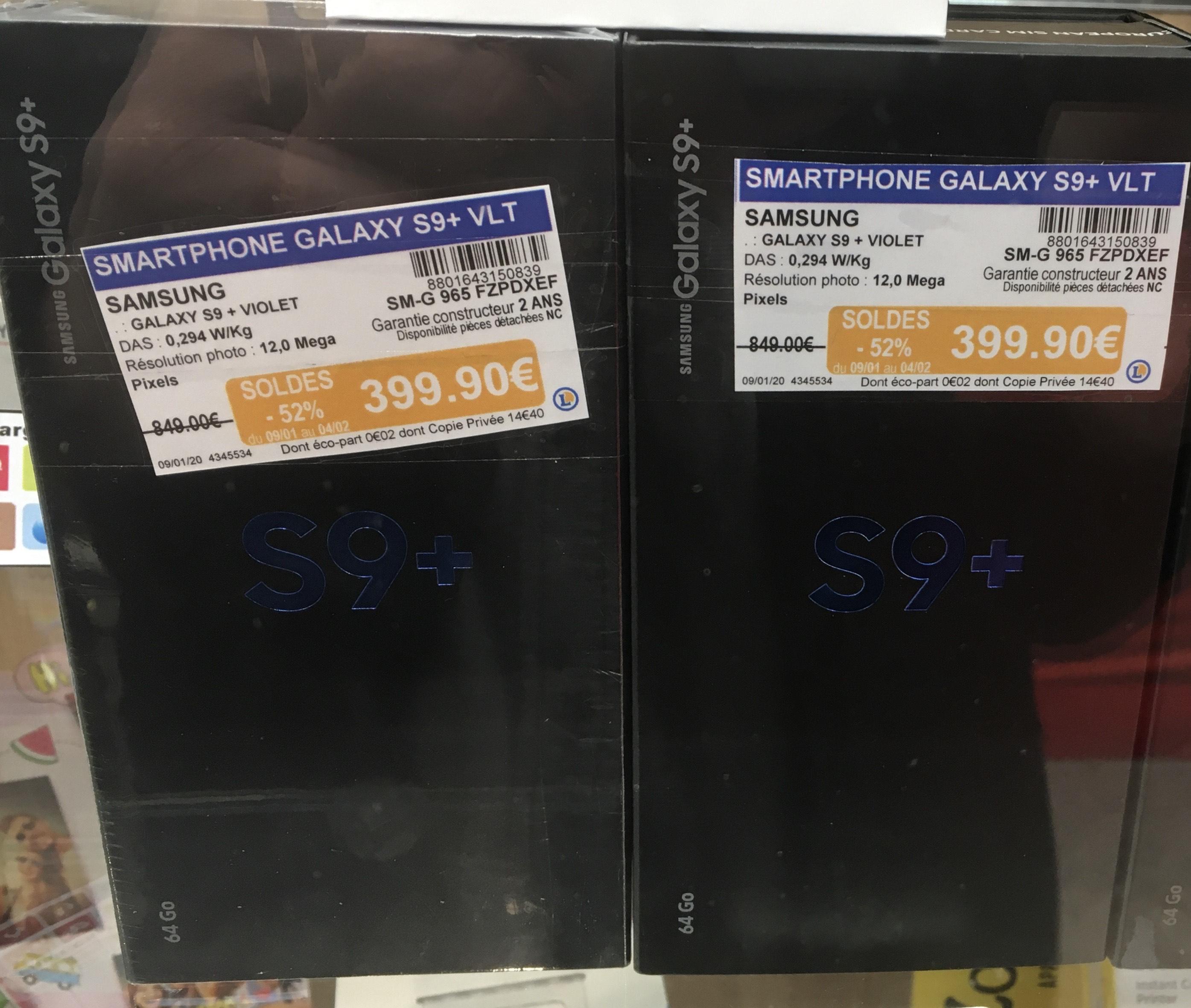 "Smartphone 6.2"" Samsung Galaxy S9+ Plus (64 Go) - Vernon (27)"