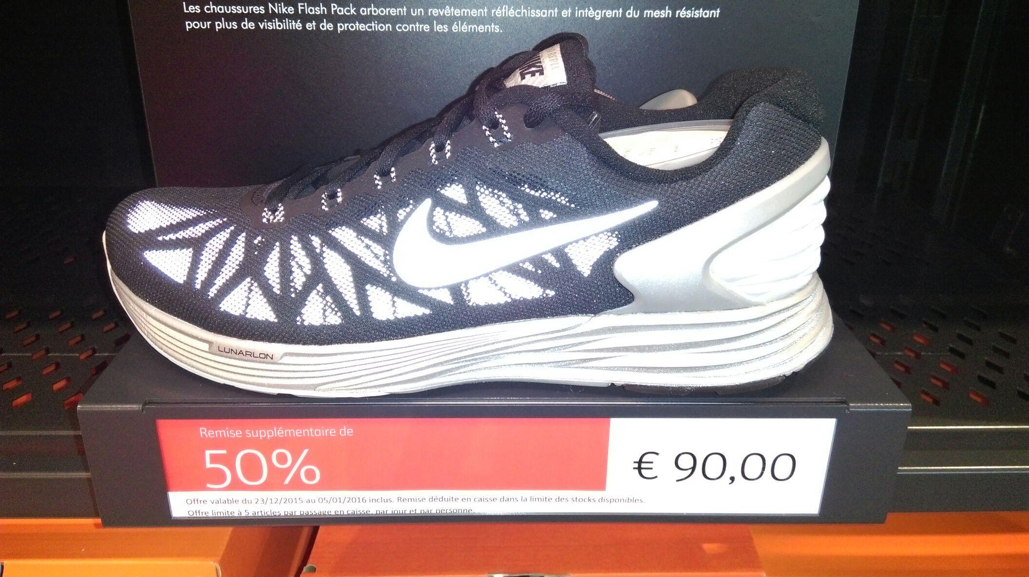 Chaussures Nike lunar glide 6 flash (taille au choix)