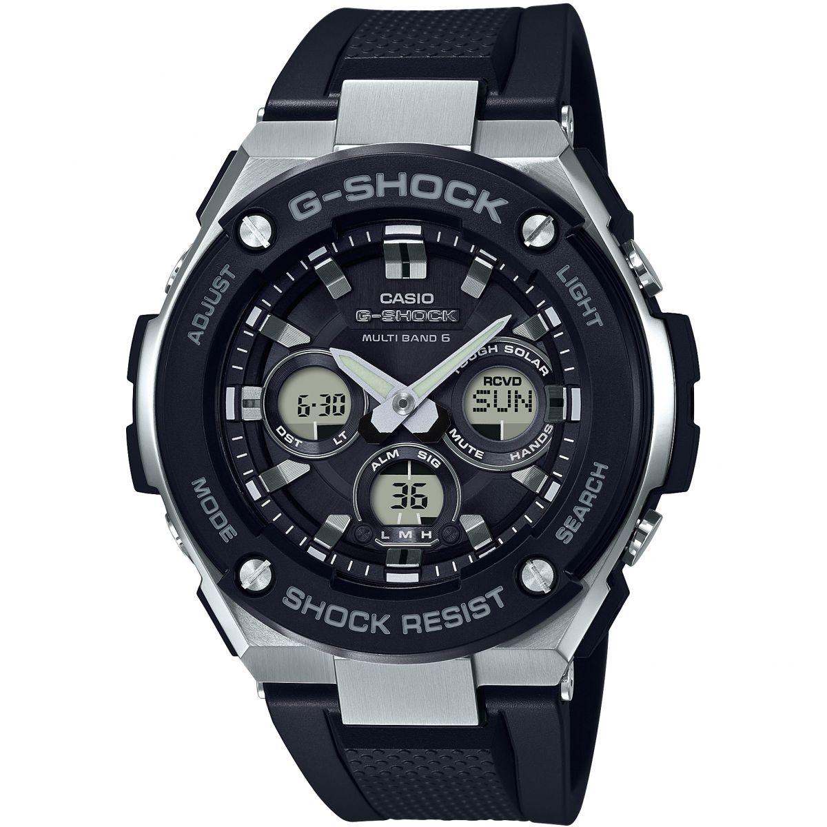 Montre Chronographe pour homme Casio G-Steel Midsize GST-W300-1AER