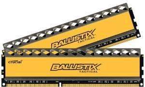 Mémoire DDR3 Crucial Ballistix Tactical 8 Go (2 x 4 Go) - 1600 MHz, CL8