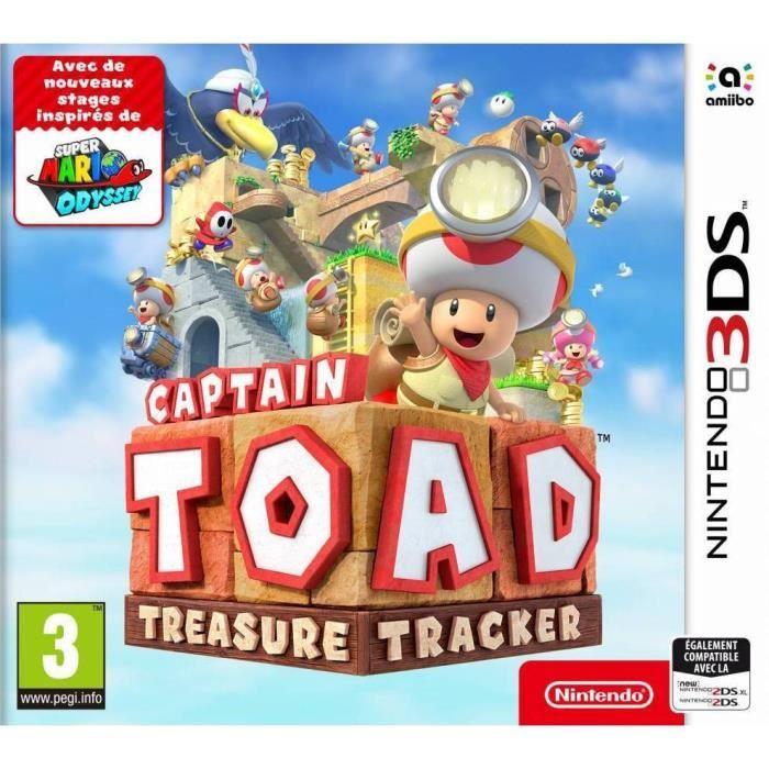 Captain Toad: Treasure Tracker sur 3DS