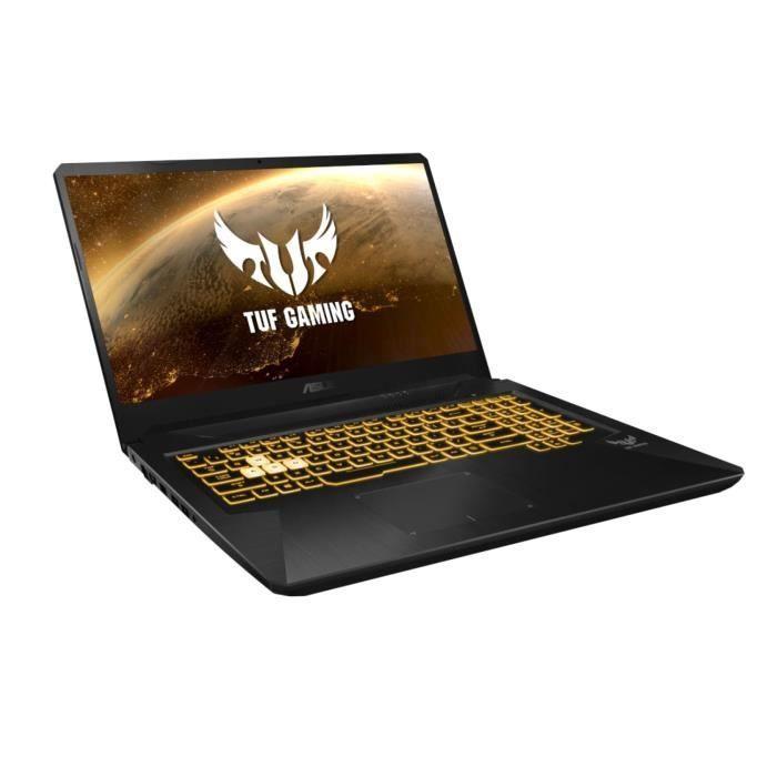 """PC Portable 17.3"""" Asus TUF705DD-AU092 - Full HD, R5-3550H, 8 Go RAM, 512 Go SSD, GTX 1050 (3 Go), Windows 10"""