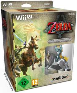 Précommande : Jeu The Legend of Zelda Twilight Princess HD Jeu Wii U + Amiibo Link Loup + CD Audio