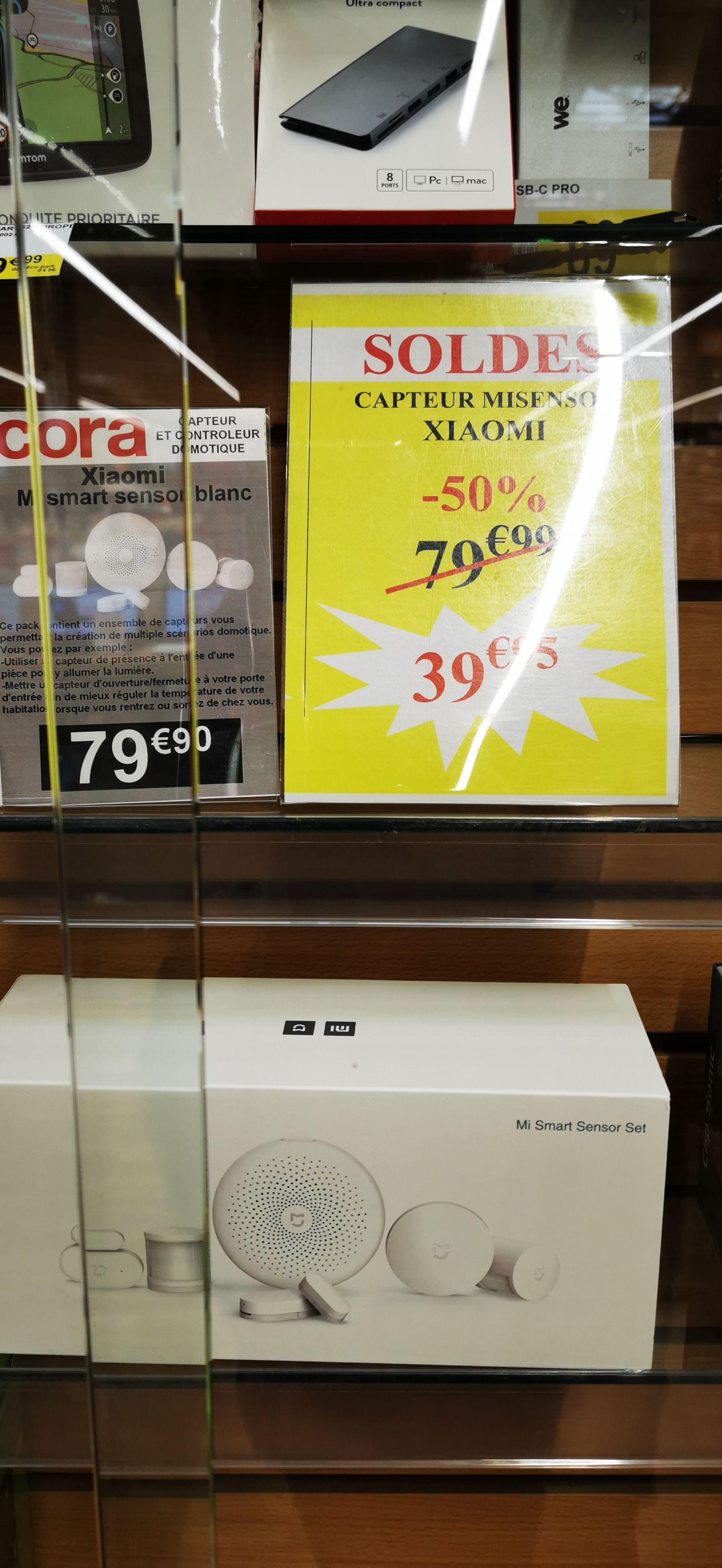 Kit d'alarme connectée Xiaomi Smart Home MI Sensor - Heillecourt (54)
