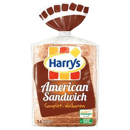 3 paquet de 14 tranches de pain de mie complet Harry's- 600 g