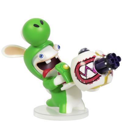 Figurine Mario et Les Lapins Crétins Kingdom Battle Yoshi - 8cm