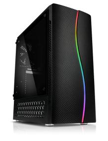 PC Gamer Infinity 4 - Ryzen 7 2700X, GTX 1660 Super OC (6Go), RAM 16Go, 512Go SSD, Alim 550W RGB, carte mère MSI B450M-A
