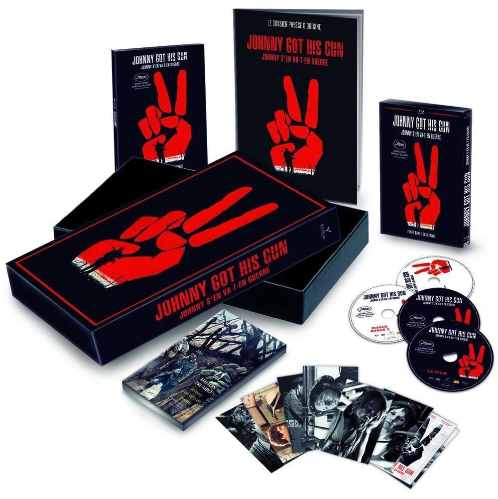 Coffret Blu-Ray : Johnny Got His Gun - Johnny s'en va-t-en guerre - Edition Collector