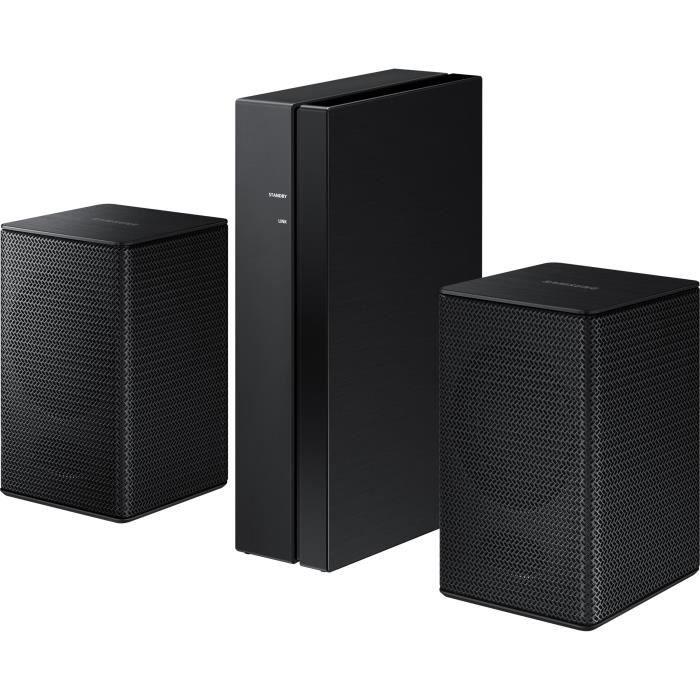 Kit d'enceintes arrières sans fil pour Barres de son HW Samsung SWA-8500S - Noir