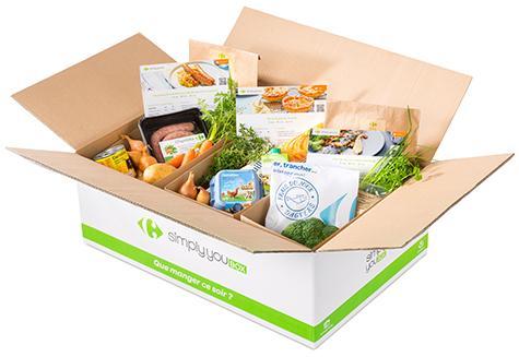 [Nouveaux clients] 20€ de réduction dès 40€ d'achat sur une première commande de repas Simply You Box (frontaliers Belgique)