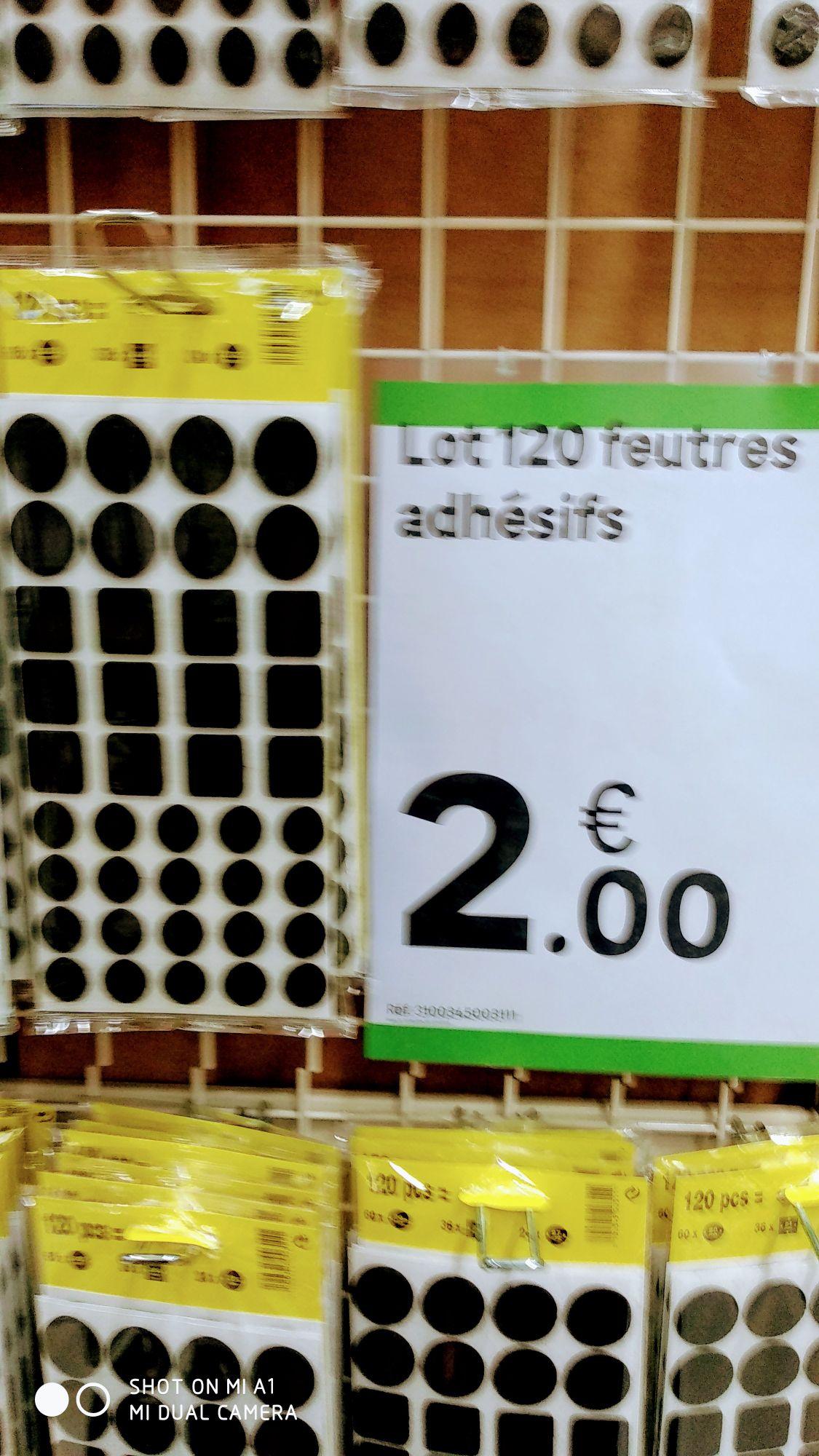 120 tampons en feutrine - Montivilliers (76)