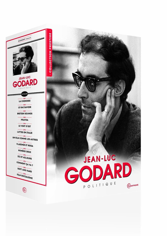 Coffret DVD - Jean-Luc Godard Politique (13 films)