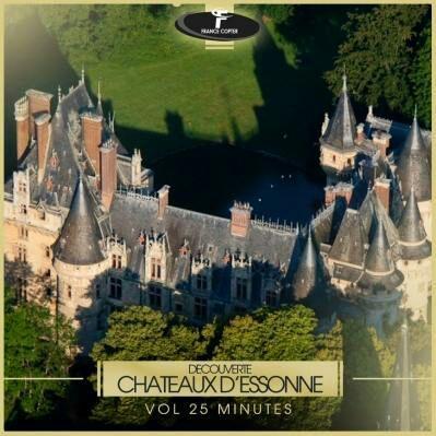 Découverte des châteaux d'Essonne en hélicoptère (Vol de 25 min)