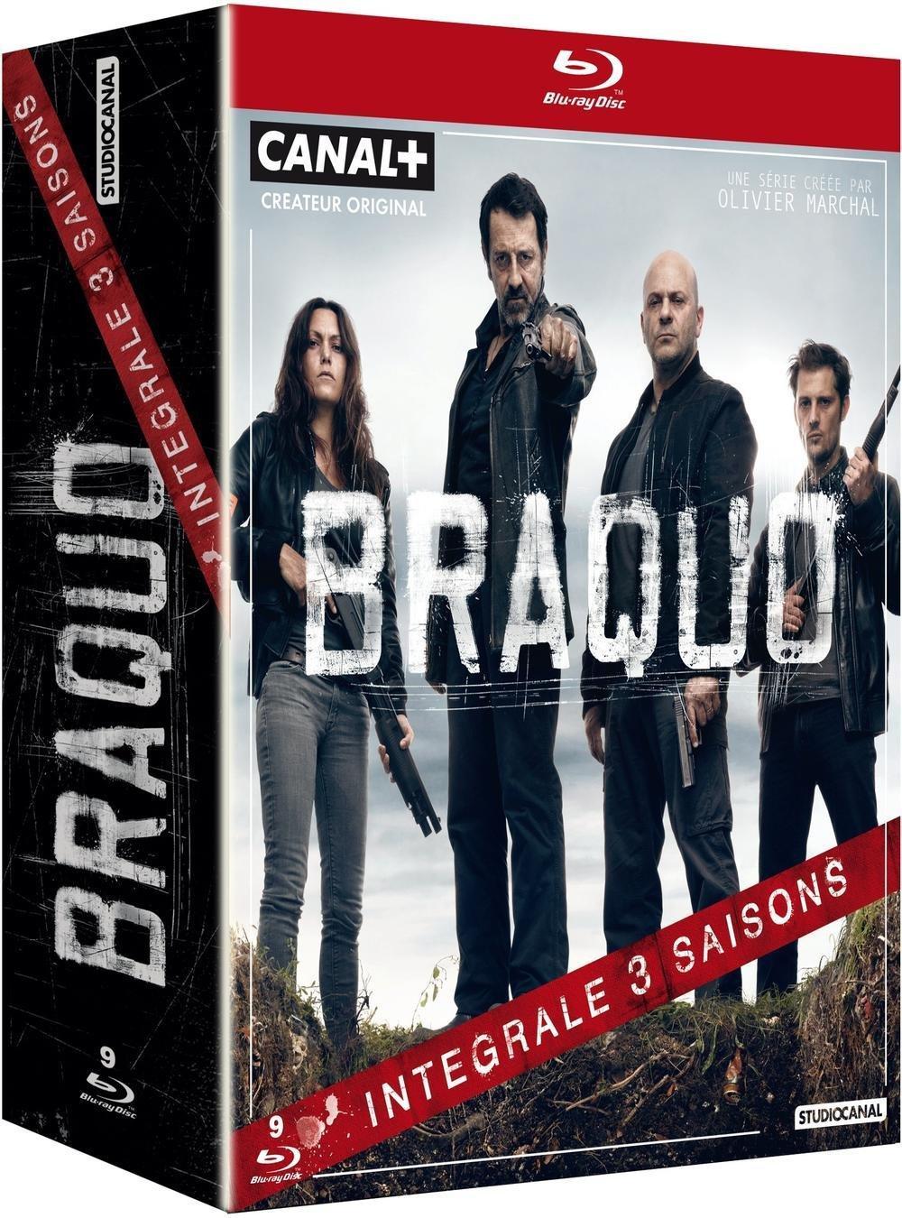 Coffret Blu-ray : Braquo - Intégrale 3 saisons