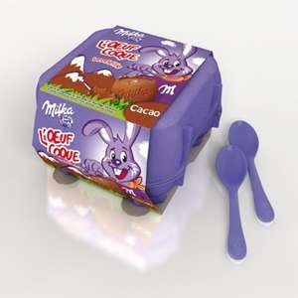 Chocolat Oeuf Coque Milka, ...