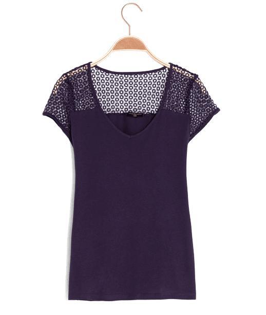 Ventes Privées Grain de Malice - Ex : Tee shirt encolure ronde