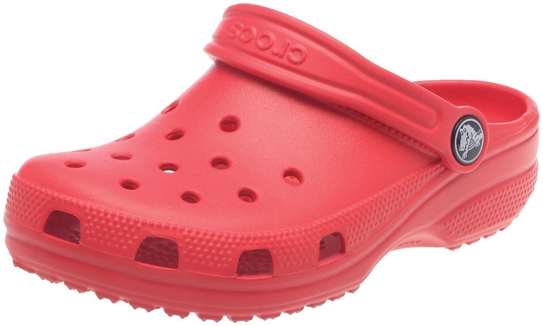 [Panier Plus] Crocs Classic, Sabots mixte enfant - Rouge (Taille 19-21)