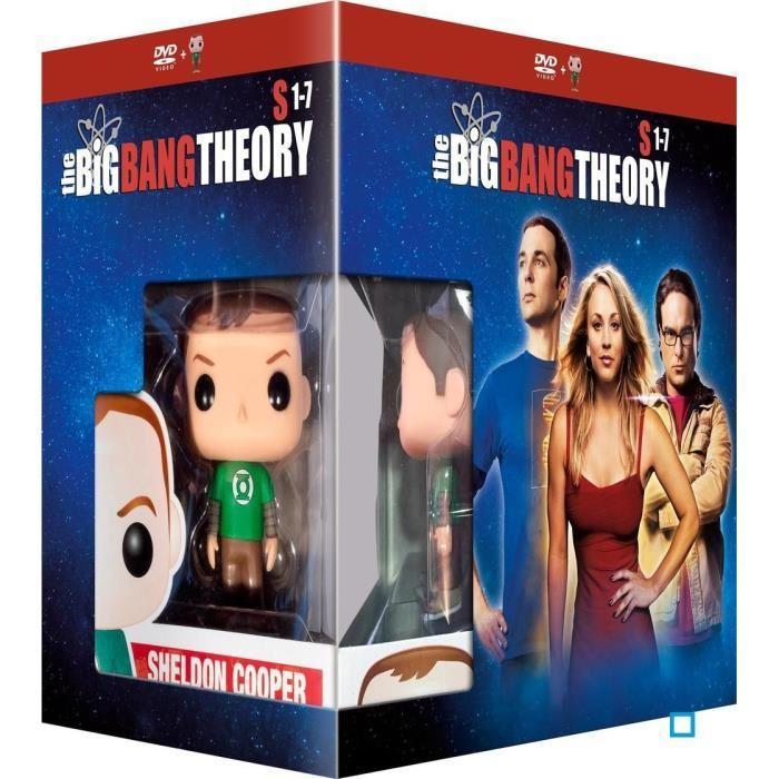 Coffret DVD The Big Bang Theory (Saisons 1 à 7) + Figurine Funko