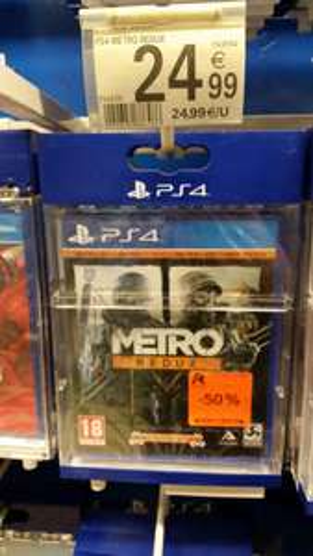 Metro Redux sur PS4