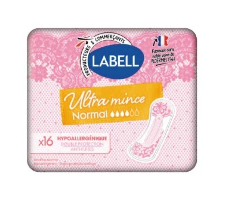 Paquet de 16 Serviettes hygiéniques Labell