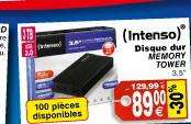 Disque dur externe Intenso 3 To USB 3.0